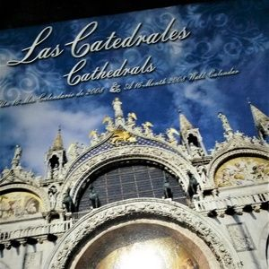 Vintage Cathedrals 2008 Classic 16 month Calendar